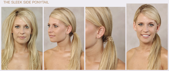 The Sleek Side Ponytail