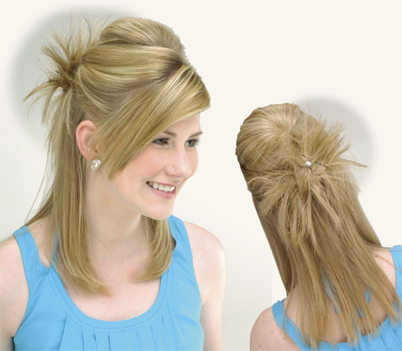Hairstyles Simple Steps