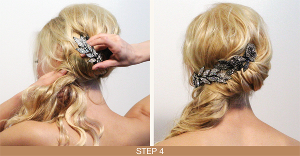 Winter Hairstyles Ponytail: Step 4