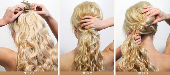 Ponytail Hairstyle for Winter - Pageantry magazine ...