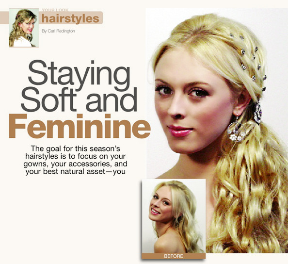 Hairstyles: Staying Soft and Feminine