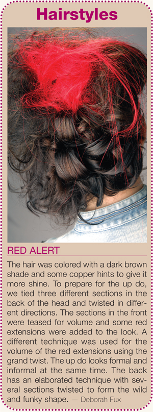 Red Alert hairstyle