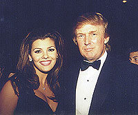 Ali Landry and Donald Trump