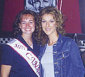 Celine Dion and Leanne