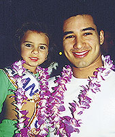 Mario Lopez and Marissa