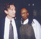 Martin Short and Whoopi Goldberg