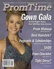 PromTime 2006 Cover featuring Barbizon/IMTA 2005 New York model Jacquelyn Mountel