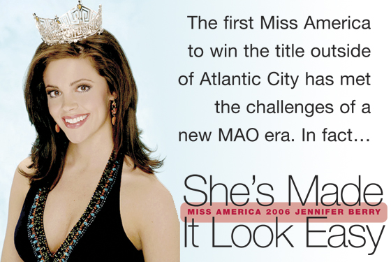 Miss America 2006 Jennifer Berry