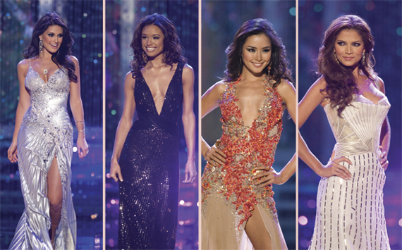 Miss Kosovo's Top Ten Miss Universe dress - Sherri Hill