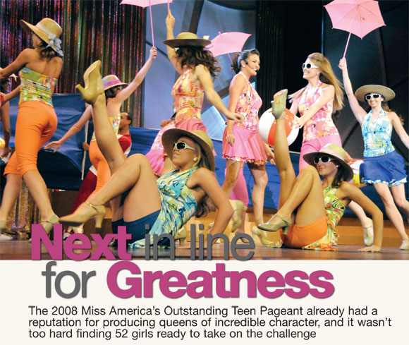 Americas outstanding teen pageant