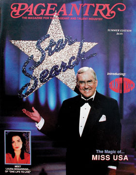 Pageantry magazine featuring Star Search's Ed McMahon
