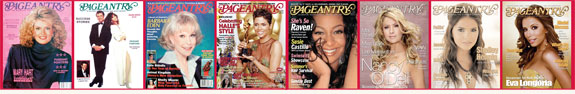 Pageantry magazine Covers