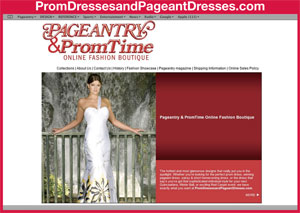 Pageantry Online Fashion Boutique