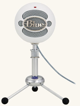 Snowball mic for Pageantry PodCast