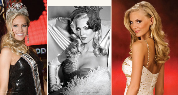 Pageantry magazine: Glamour shots of Kristen Dalton, Miss USA 2009
