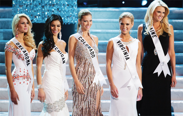 Miss USA 2010 Top 5