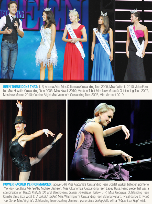 Power Packed performances with Miss America's Outstanding Teens.