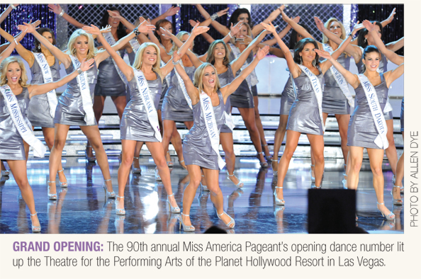 Miss America 2011 Pageant Opening number