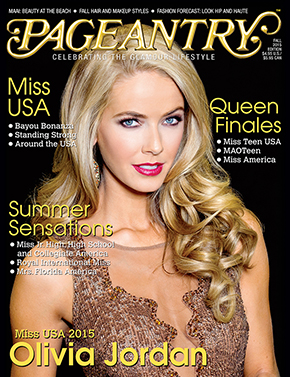 Pageantry Fall 2015 magazine Miss USA cover