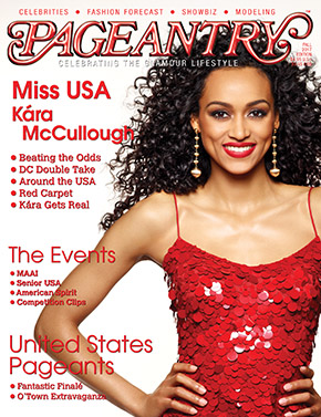Miss USA Kara McCullough, Pageantry magazine, Pageantry