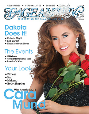 Miss United States Rachael Todd, Pageantry magazine, Pageantry