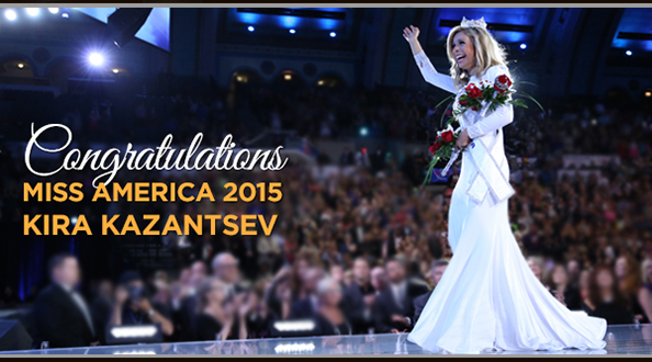 Miss New York America Kira Kazantsev