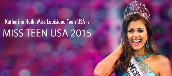 Katherine Haik - Miss Teen USA 2015