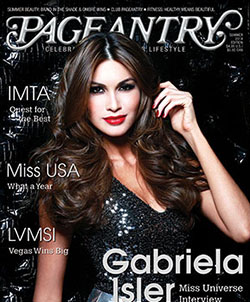 Pageantry magazine Summer 2014 Gabriela Isler