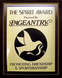 Pageantry Spirit Award