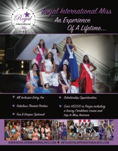 royal international miss pageant, national pageant