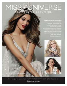 Miss Universe, Miss USA, Miss Teen USA, pageant, confidently beautiful, beauty pageant