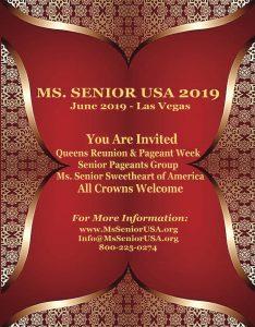 Ms. Senior USA, pageant, beauty