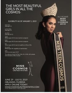 cosmos pageants, beauty pageant, swimsuit, beauty, glamour, national pageant