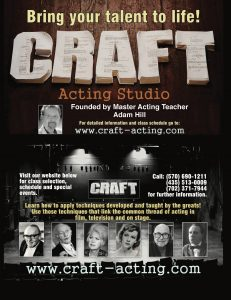 acting lessons, acting, actor training