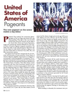 beauty pageant, pageants, national pageant