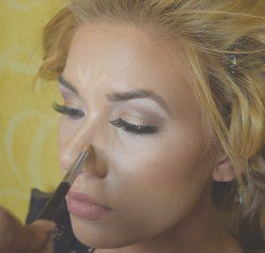 nose contouring makeup, pageant makeup, prom makeup, makeup tips