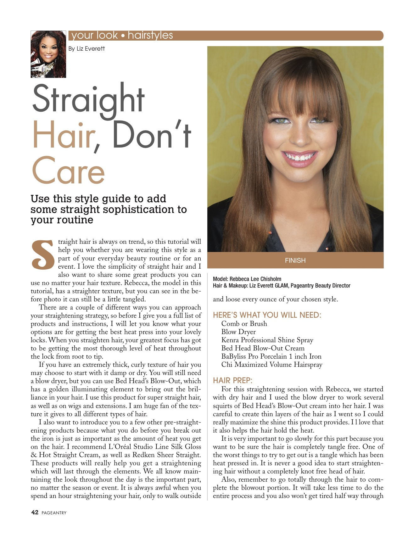 Hairstyles Straight Hair Don T Care Pageantry Magazine