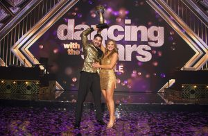 Miss Alabama USa 2018 Hannah Browns captures a new crown and trophy after winning the season 28 edition of Dancing With the Stars