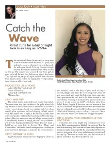hairstyle tutorial, curly hairstyle, pageant hair, pro hair, pageantry magazine, easy haire