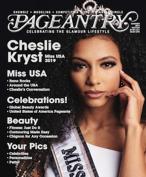 Pageantry magazine Summer 2019 Cheslie Kryst