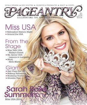Pageantry magazine Fall 2018 Sarah Rose Summers
