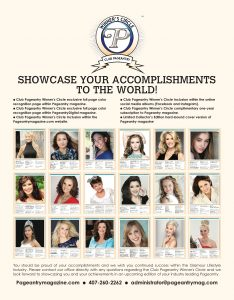 national pageant, international pageant, pageant winner, pageant club, pagent
