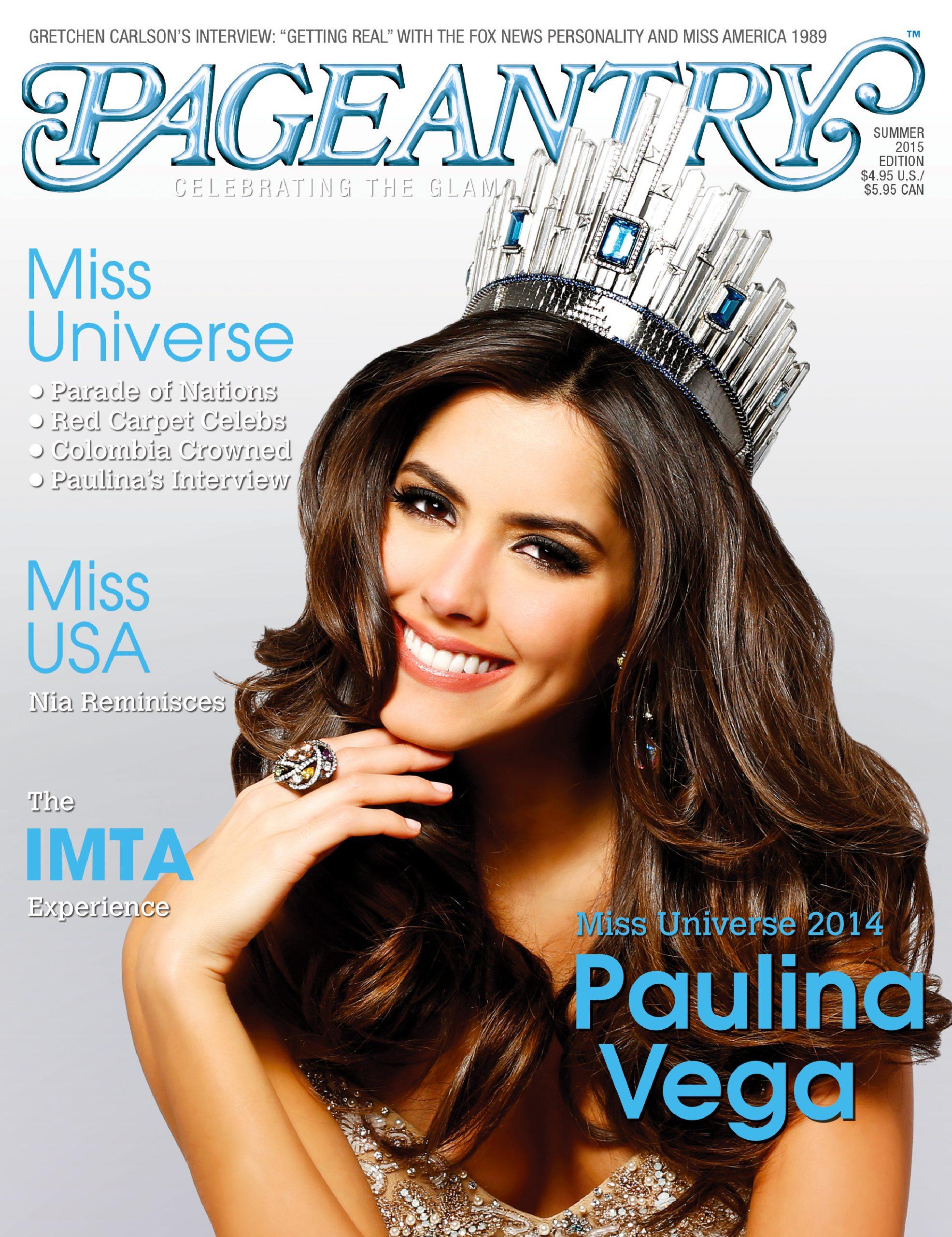Miss Universe, pageant, pageantry, Paulina Vega, Miss USA, IMTA