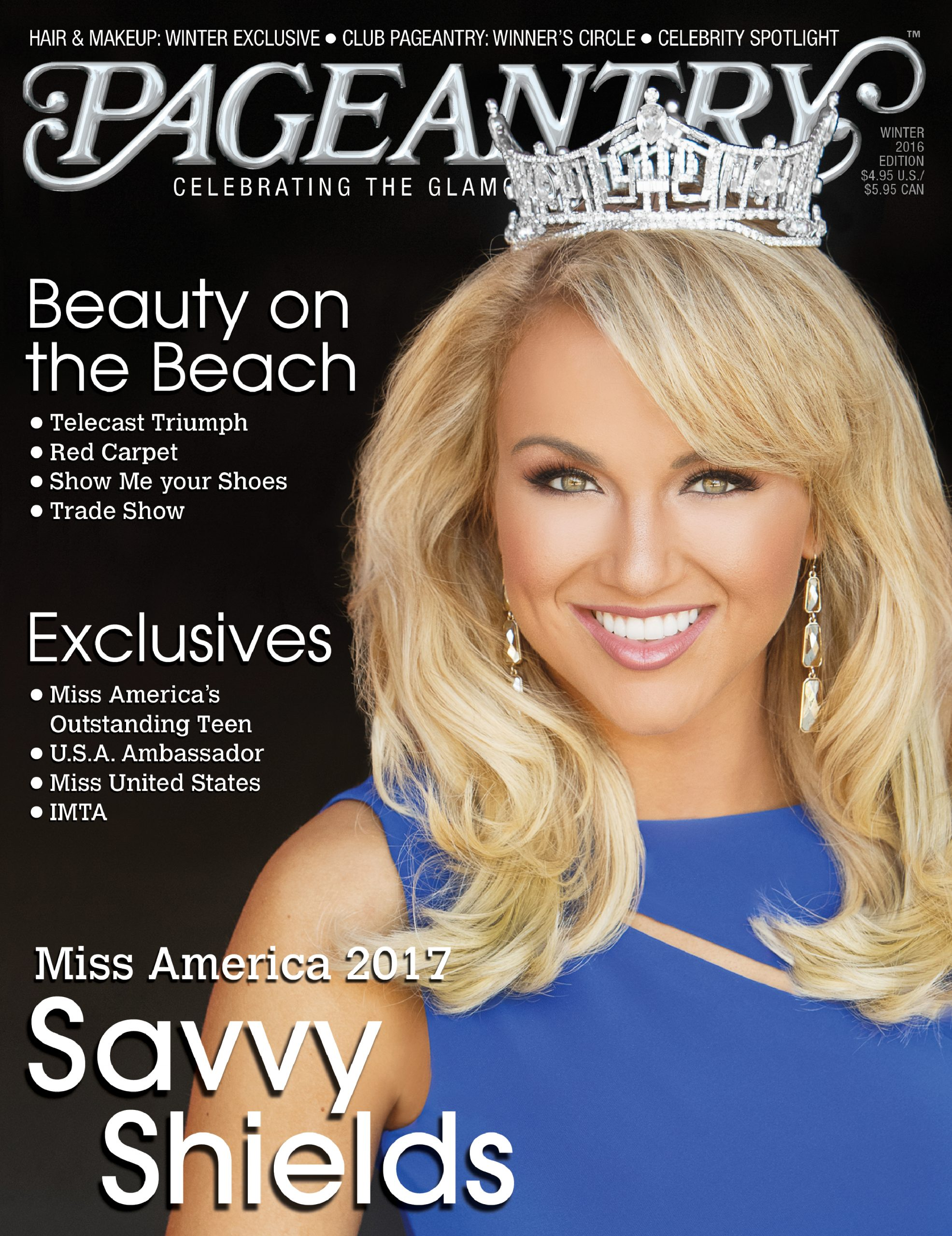 Miss America Pageant, Savvy Shields, MAOTeen, pageant, pageantry, pageant magazine