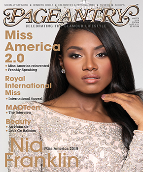 Pageantry magazine Winter 2018 featuring Miss America 2019 Nia Franklin