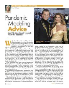 pandemic modelimg, runway modeling