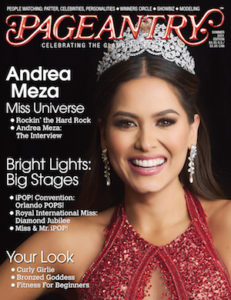 pageant, beauty pageant, pageant life, andrea meza, pageantry magazine, beauty