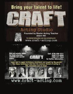 acting school, acting craft, acting
